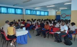 Provedor de Justiça ministra palestra a estudantes do Ensino Secundário